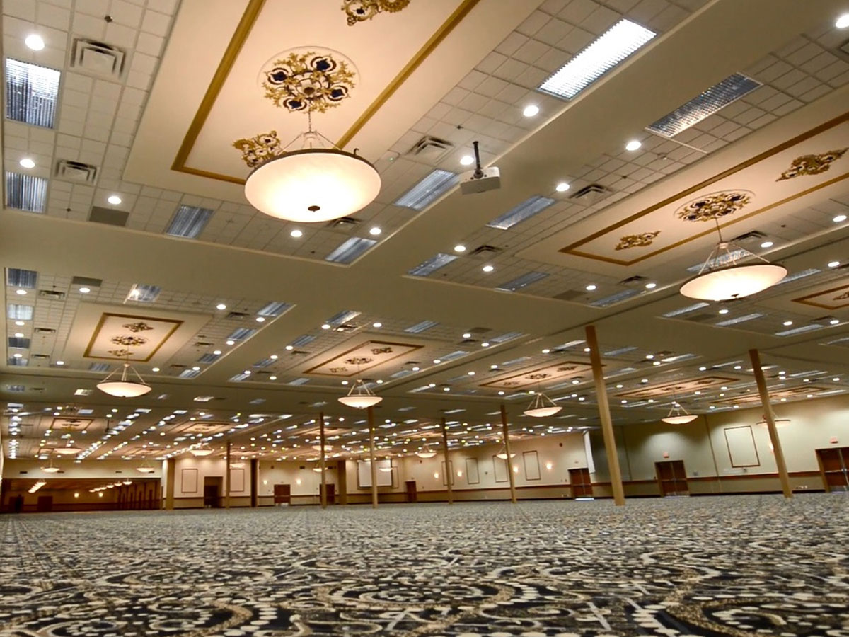 Victoria Inn Hotel & Convention Centre - The ballroom at the Victoria Inn Hotel & Convention Centre