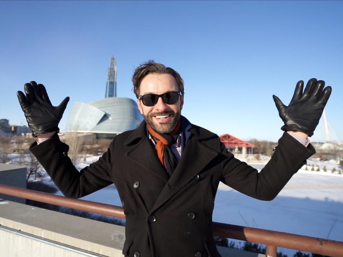 Drops of Winnipeg: Interview with Curtis Newton - Curtis Newton, Winnipeg singer and the writer behind Meetings Winnipeg's new music video