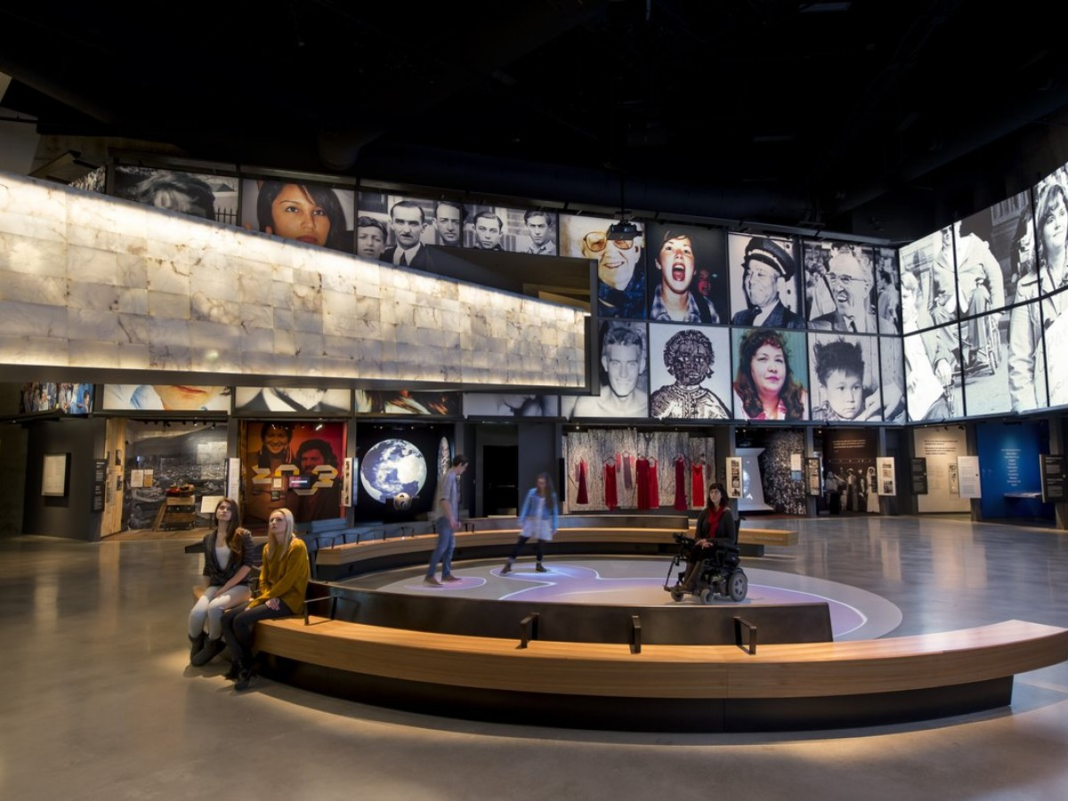 Experience the seasons: spring - The Canadian Museum for Human Rights offers a can't-miss experience