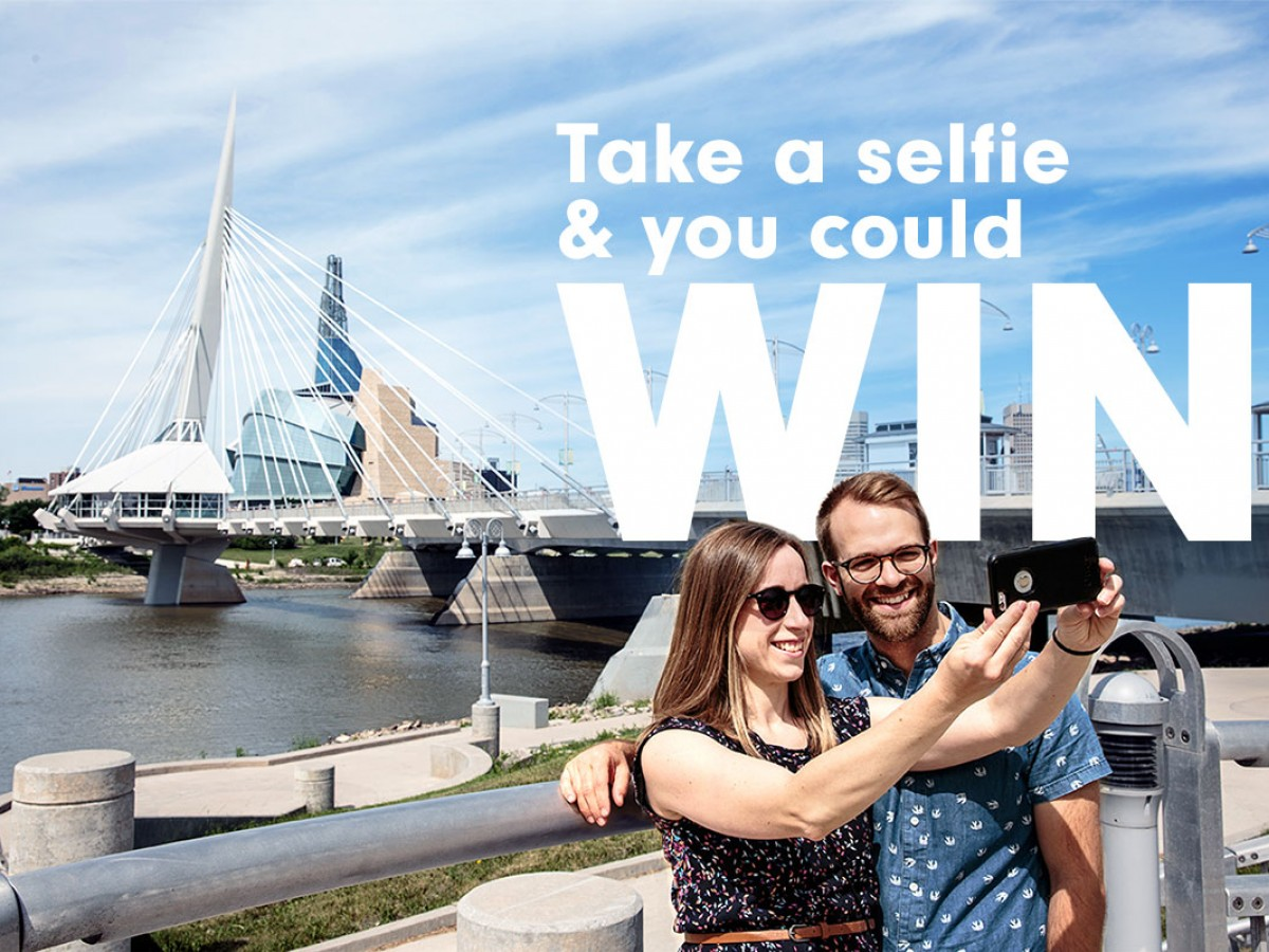 Share your Winnipeg experience on social and Win $500!  -
