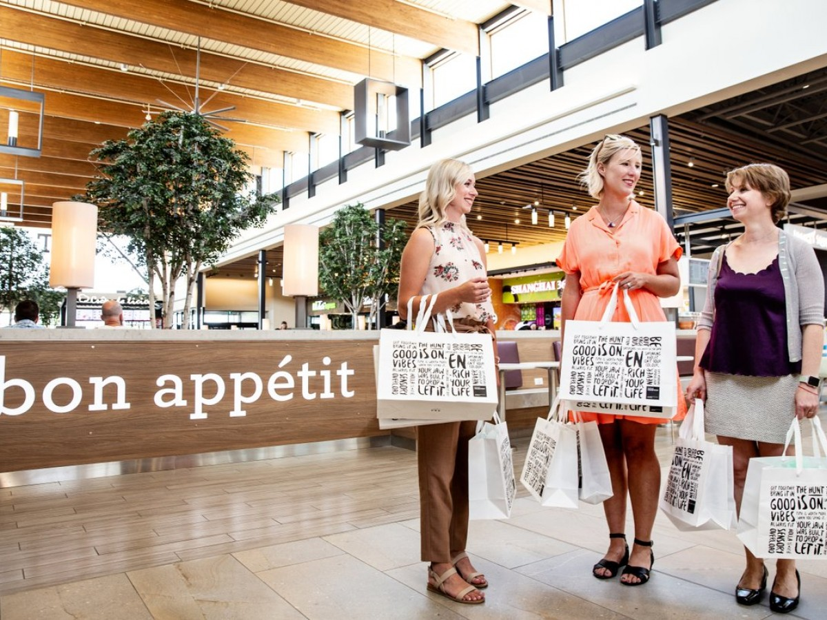 """We're more than just a shopping experience"" - The open spaces and unique shops of Outlet Collection Winnipeg make this shopping centre a destination experience (photo by William Au)."