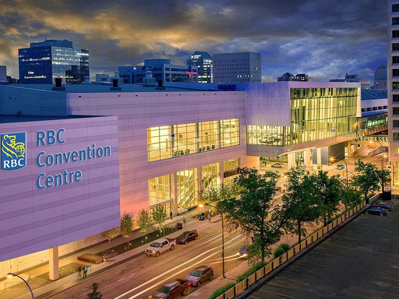 RBC Convention Centre - representative image